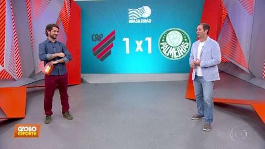 """Caio Ribeiro vê ótimo resultado para o Palmeiras no Paraná, mas diz: """"Brasileiro é do Flamengo"""""""