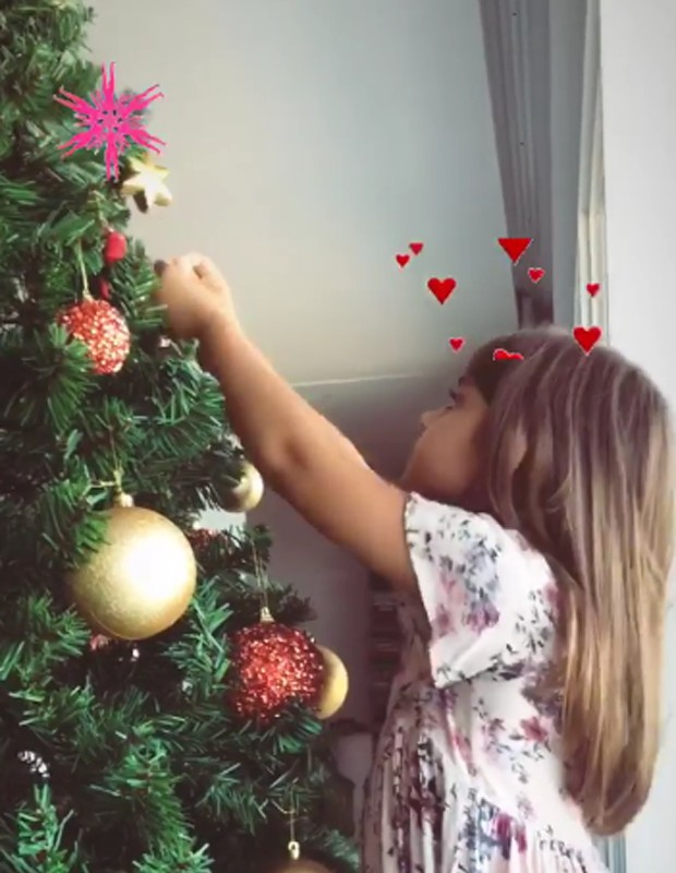 Sofia, a filha de Grazi Massafera e Cauã Reymond (Foto: Reprodução Instagram)