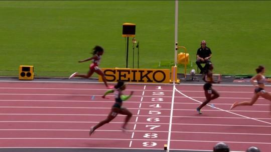 Rosângela voa no fim, e Brasil vai à final do 4x100m feminino em Londres