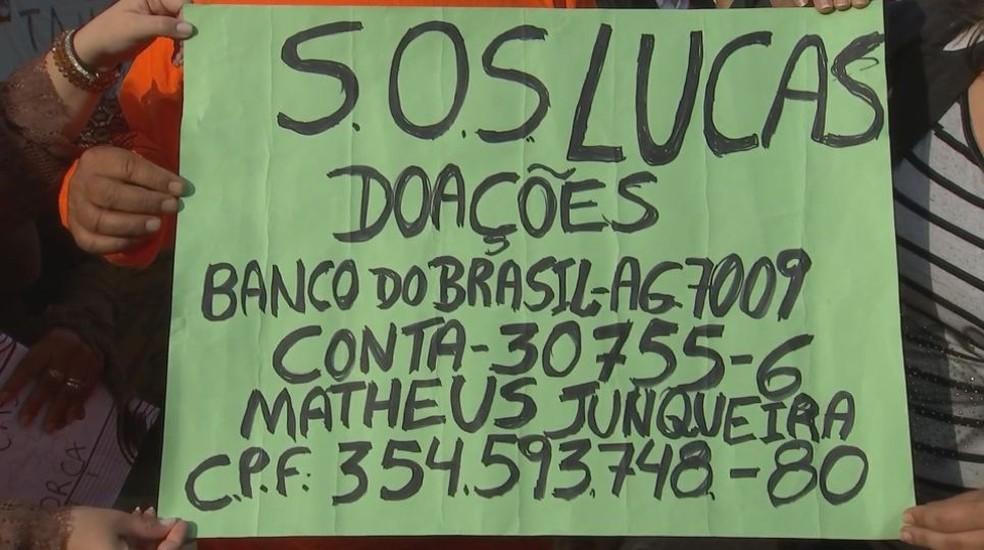 Amigos e familiares criaram campanha para arrecadar dinheiro para custear tratamento e transferência de jovem de Tupã internado na Colômbia (Foto: Reprodução / TV TEM)