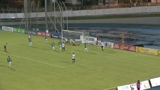 """Após novo gol, volante do Figueira compara momento a filme: """"A hora do Rusch"""""""
