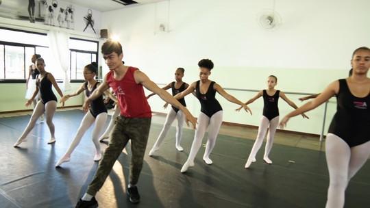 Projeto Dança Vida, da Etudes, oferece aulas de balé e jazz gratuitas a carentes
