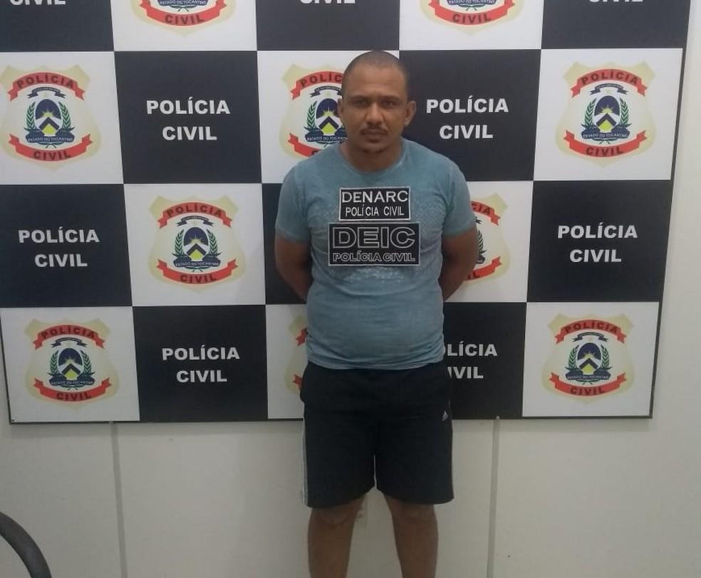 O empresário Paulo Henrique Sousa é investigado por intermediar o crime — Foto: Divulgação/Polícia Civil
