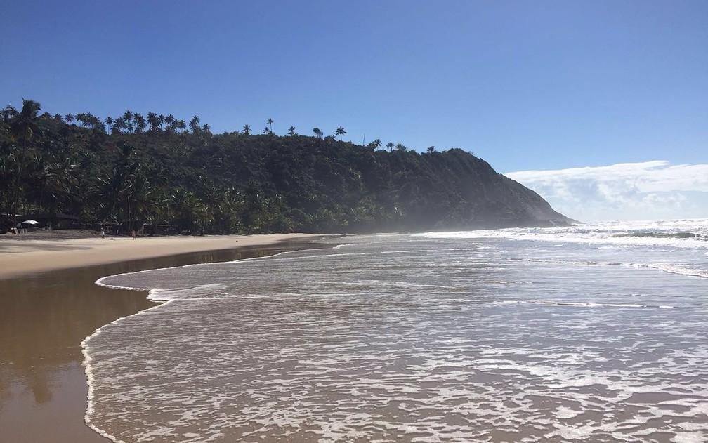 Praias de Itacaré impressionam pela beleza e trilhas em Mata Atlântica — Foto: Rafaela Ribeiro/G1 BA