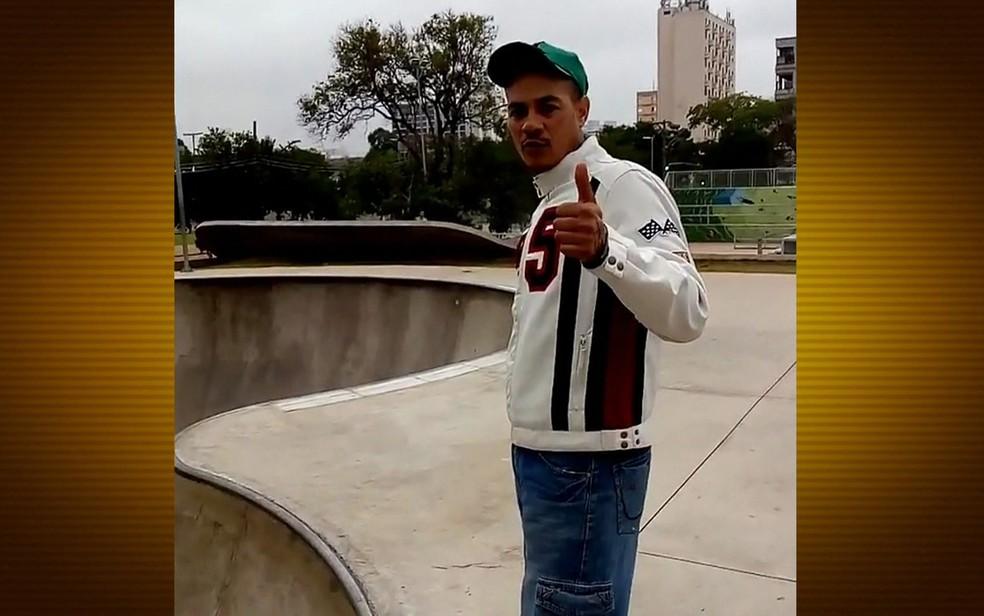 Ricardo morava sozinho e trabalhava no centro de São Paulo (Foto: Reprodução/TV Globo)