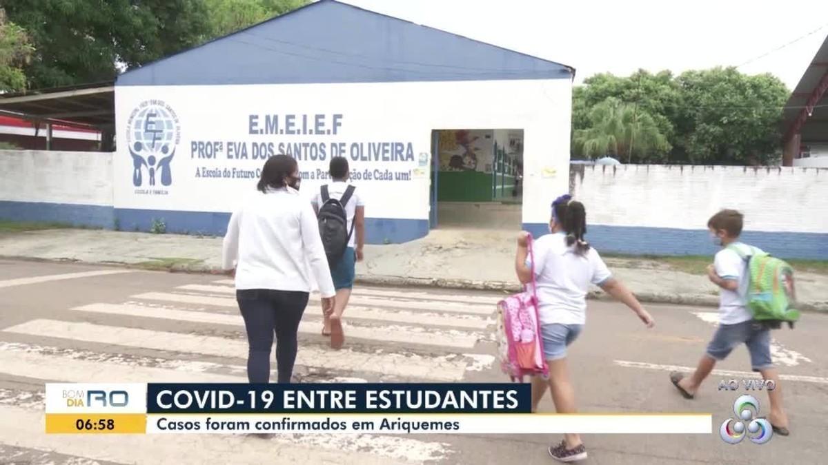 Novos casos de Covid em escolas são registrados em Ariquemes, desta vez em alunos