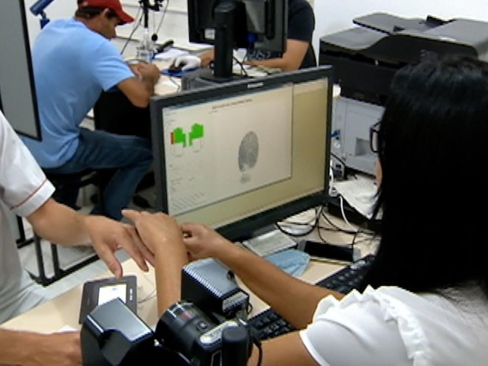 Vinte cidades de Pernambuco encerram nesta terça-feira (27) o prazo para cadastro da biometria (Foto: Reprodução/TV Fronteira)