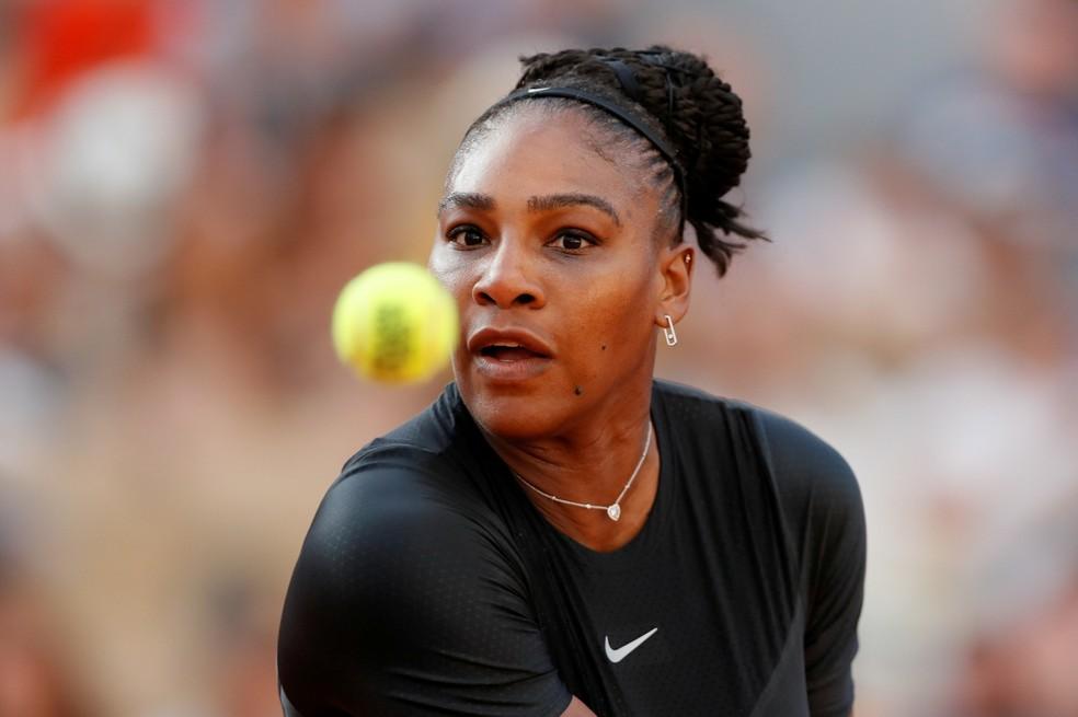 Serena Williams vinha de três vitórias em Roland Garros (Foto: REUTERS/Gonzalo Fuentes)
