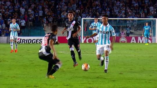 Vasco sofre goleada do Racing e fica a perigo na Libertadores