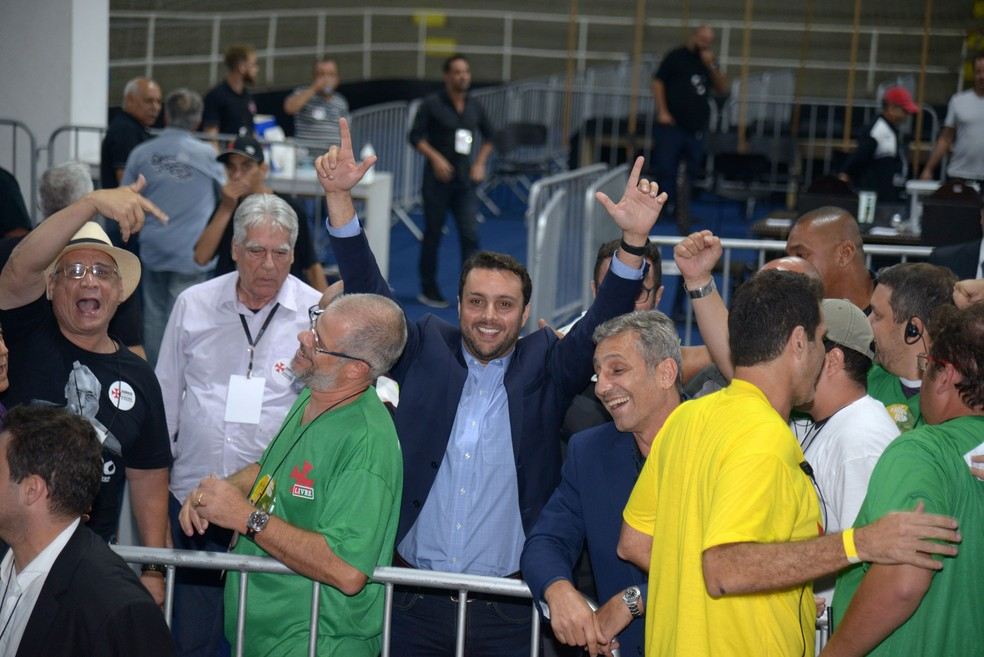 Julio Brant também comemora na eleição do Vasco (Foto: André Durão)