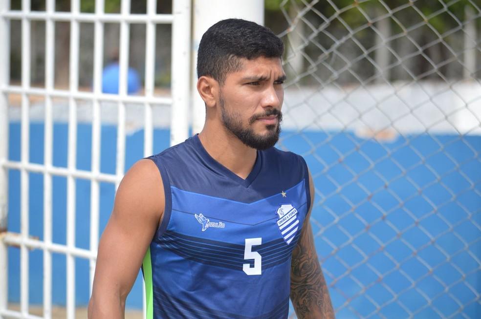 Yuri volta ao Bahia após se destacar no CSA durante a Série B do Campeonato Brasileiro — Foto: Eduardo Vieira/CSA