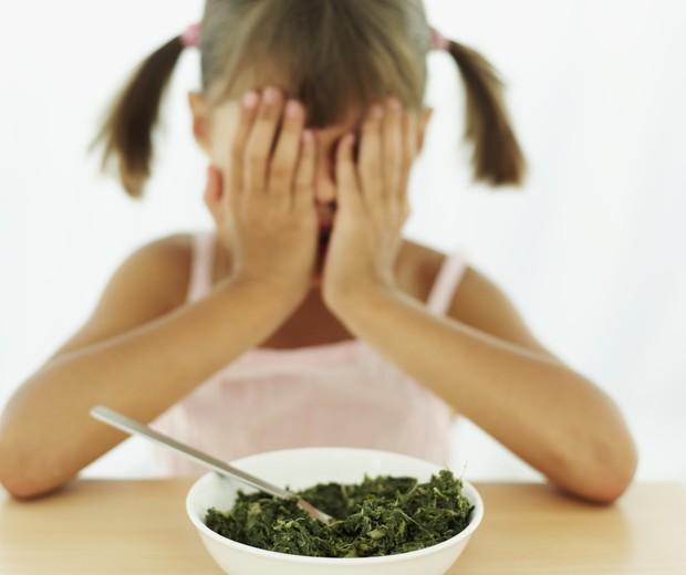 Você tem a maior difuculdade em fazer seu filho comer verduras e legumes?  (Foto: Thinkstock)