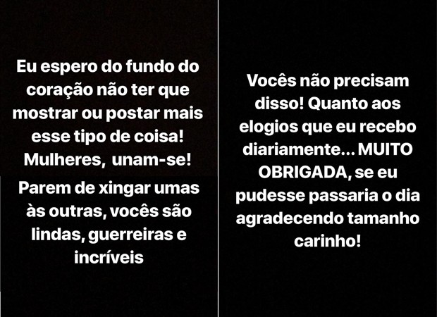 Lexa faz desabafo contra haters na internet (Foto: Reprodução / Instagram)