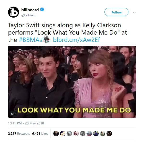 Taylor Swift (Foto: Twitter)
