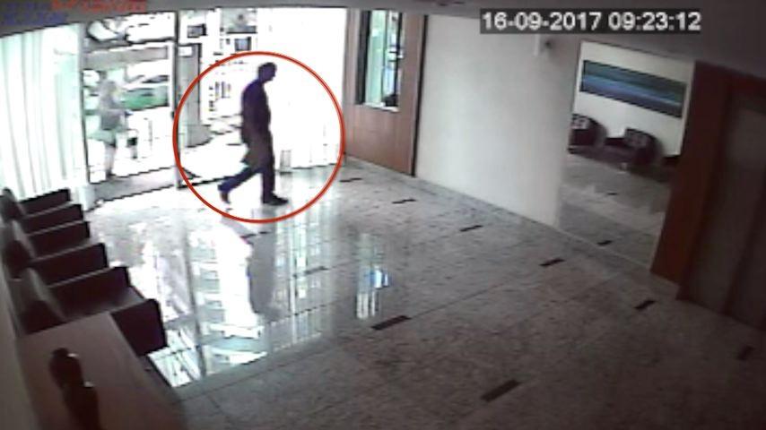 Vídeo mostra ex-marido de médica morta entrando no prédio dela em Vitória no dia do enterro