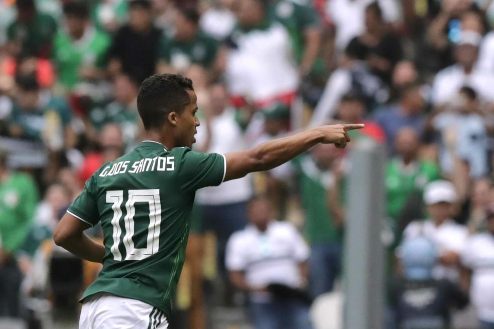 Giovani dos Santos — Foto: REUTERS/Henry Romero