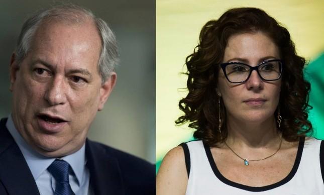 Ciro Gomes e Carla Zambelli