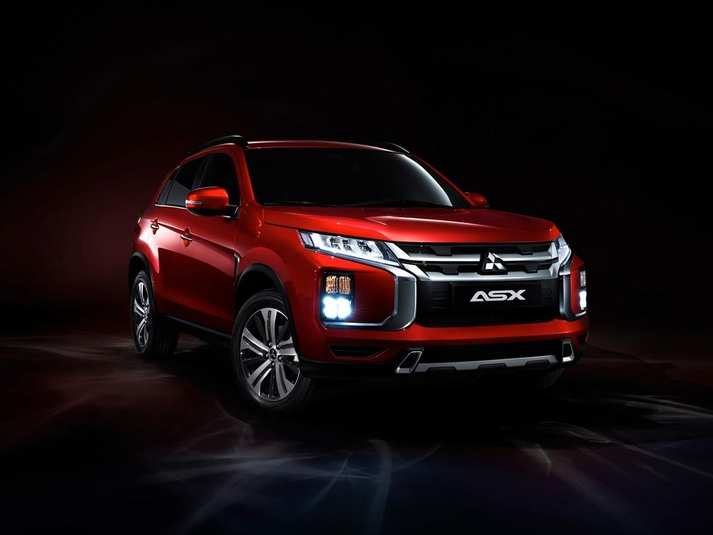 Mitsubishi ASX 2020 — Foto: Mitsubishi/Divulgação