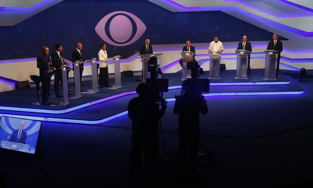 Presidenciáveis no debate