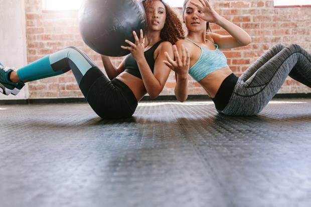 Treinar com amigos pode ser ideal para que você não fique desestimulado  (Foto: Think Stock)