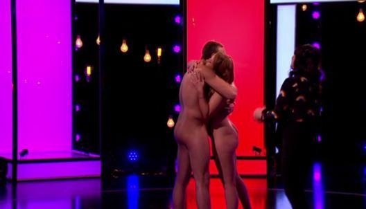 Gemma Warren e James North no 'Naked Attraction'