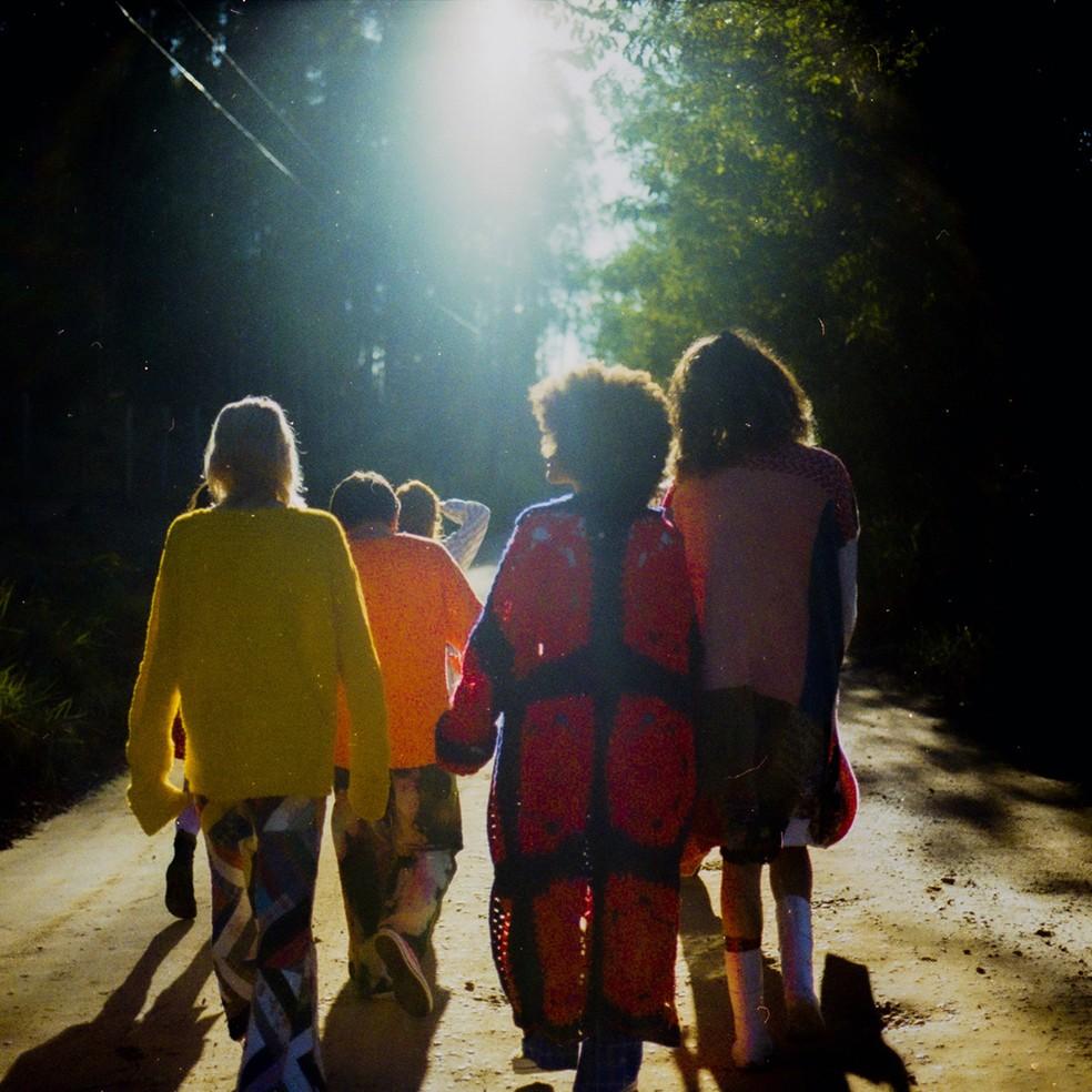 Capa do single 'Espera a primavera', de Nando Reis — Foto: Divulgação