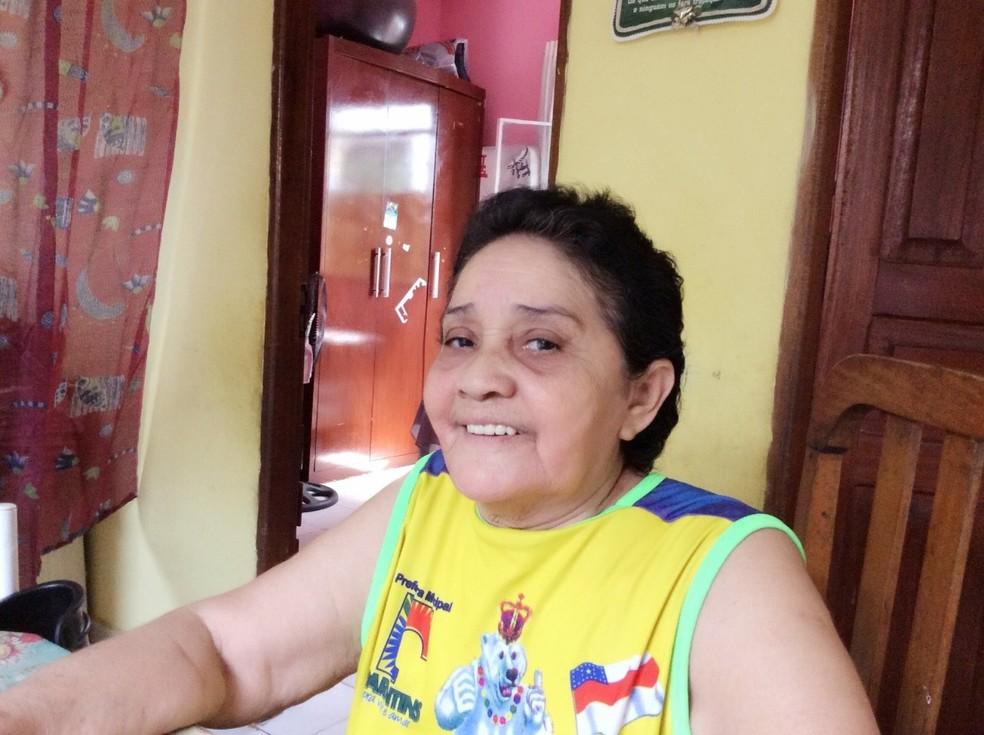 Zenite Gonzaga Mota, paciente que morreu após o tratamento com proxalutamida — Foto: Arquivo pessoal