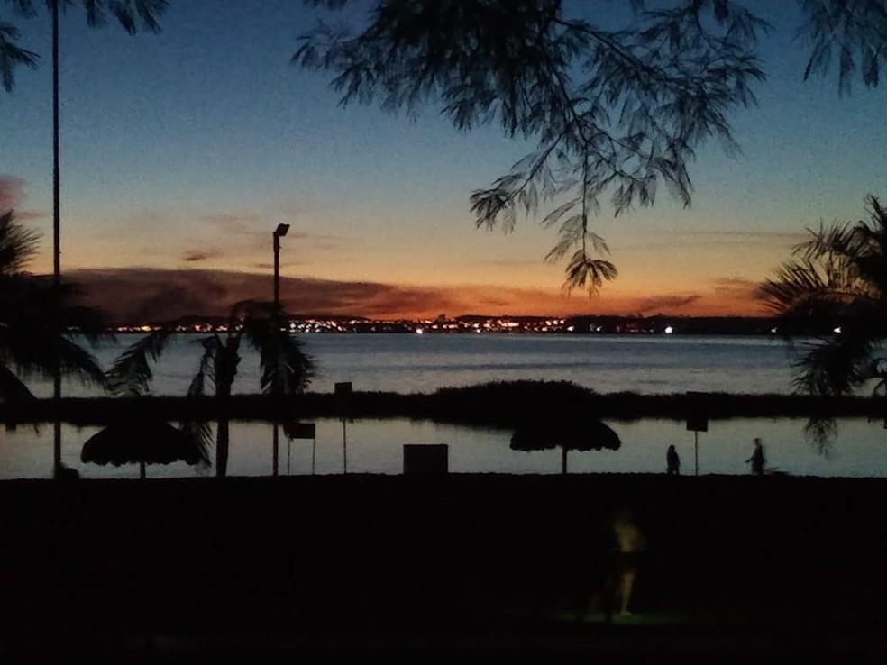 Praias, parques e praças continuarão fechados em Palmas — Foto: Edson Reis/G1