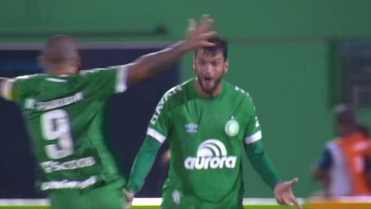 Os gols de Chapecoense 0 (4) x (3) 0 Atlético-MG pelas quartas de final da Copa do Brasil