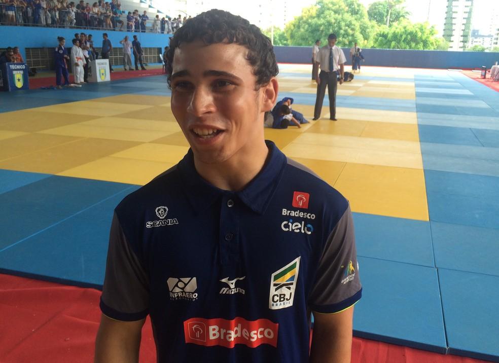 Em quatro participações nos Jerns, Aldi Oliveira tem três ouros e uma prata no judô (Foto: Hugo Monte/GloboEsporte.com)