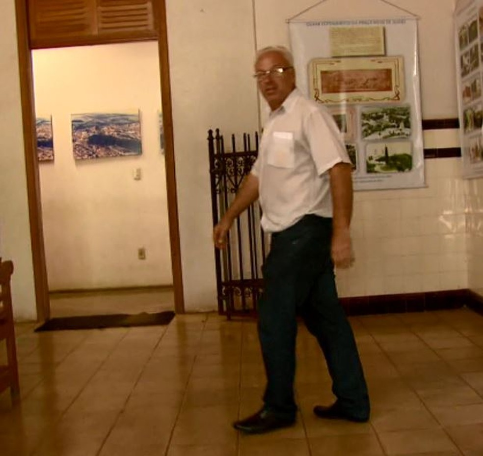 O prefeito de Ribeirão Bonito, Francisco José Campaner (PSDB) (Foto: Reprodução/EPTV)