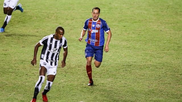 Bahia e Ceará se enfrentaram no estádio de Pituaçu