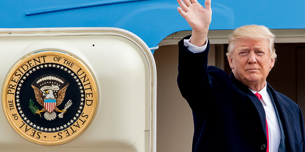 Donald Trump acusou empresas americanas como Facebook, Google e Amazon de perseguição política — Foto: Divulgação/The White House
