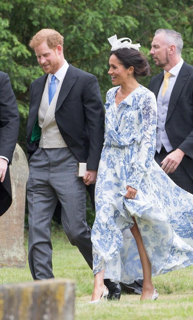 O príncipe Harry e Meghan Markle (Foto: The Grosby Group)