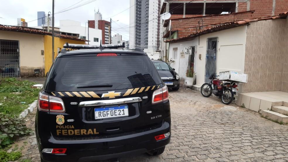 Policial federal reage a assalto e mata criminoso em Natal — Foto: Sérgio Henrique Santos/Inter TV Cabugi