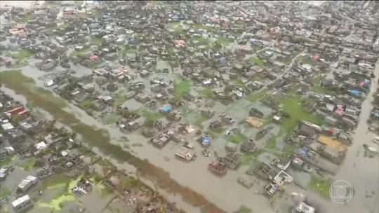 Ciclone tropical provoca a morte de 200 pessoas no continente africano