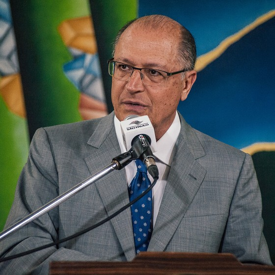 O governador Geraldo Alckmin (Foto: LEON RODRIGUES/SECOM)
