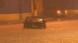 Chuva causa transtornos em Belo Horizonte (Globo)