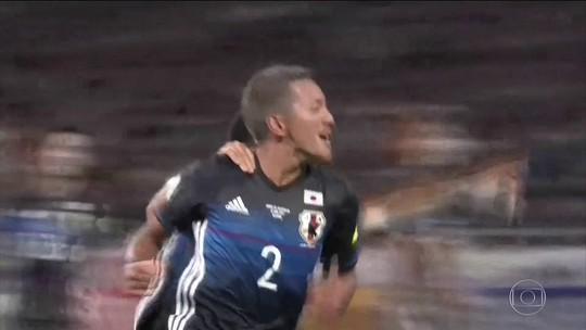 Mais uma na Rússia: Japão vence Austrália e garante vaga na Copa de 2018