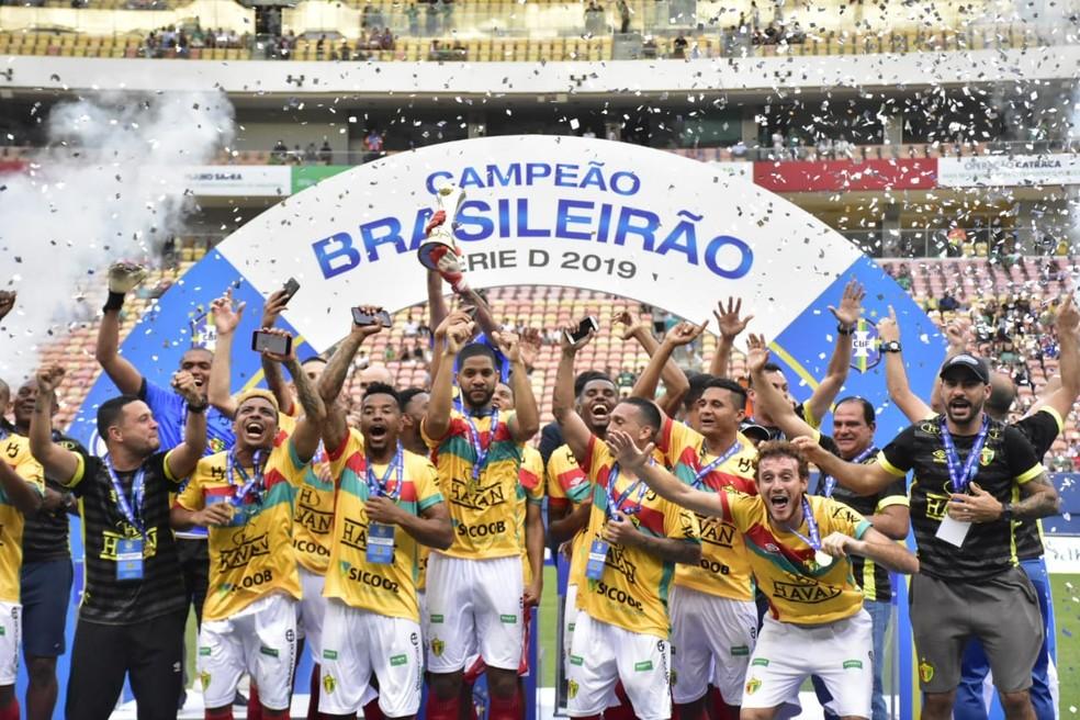 Brusque é o atual campeão — Foto: Mauro Neto/Sejel