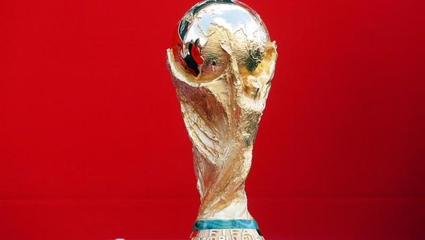 Troféu da Copa do Mundo da Rùssia (Foto: EFE/EPA/MAXIM SHIPENKOV)