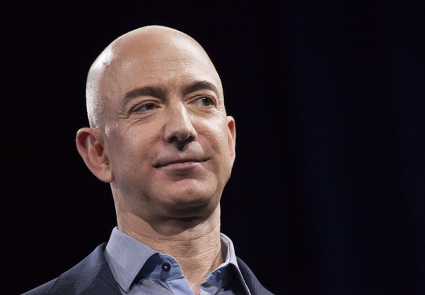 Jeff Bezos, da Amazon (Foto: David Ryder/Getty Images)