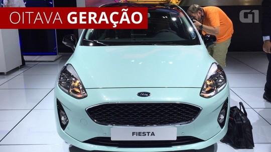 Ford Fiesta faz 40 anos com nova geração na Europa, mas Brasil está fora dos planos