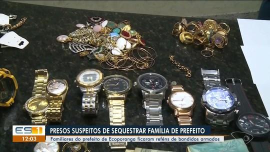 Polícia continua investigando sequestro de família de prefeito de Ecoporanga, ES