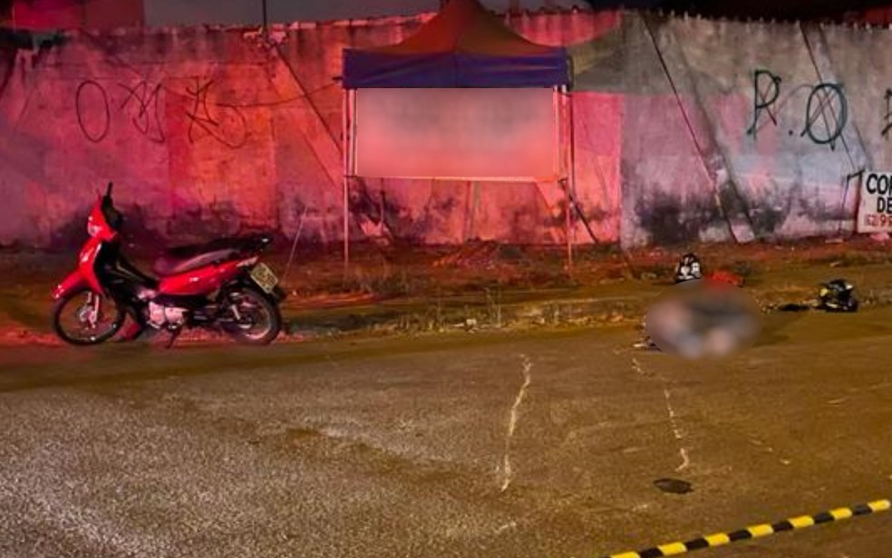 Jovem estava a caminho da casa da namorada ao morrer em acidente de moto em Goiânia, Goiás — Foto: Reprodução/Delegacia de Trânsito