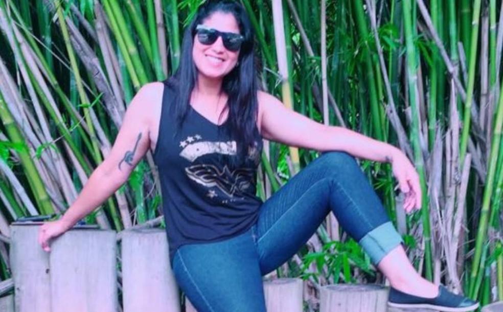 Adriana Aparecida foi morta a facadas em Jundiaí — Foto: Arquivo Pessoal