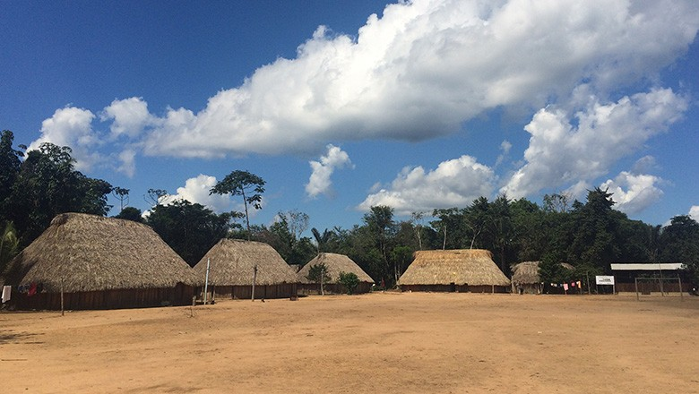aldeia-samauma-xingu (Foto: Vinicius Galera/Ed. Globo)