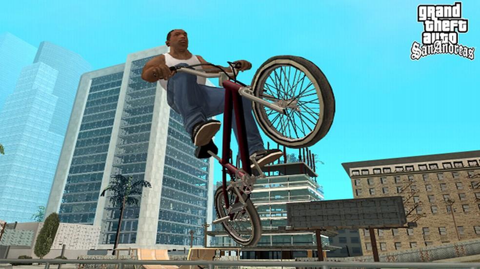 CJ de GTA San Andreas ainda é lembrado por fãs — Foto: Divulgação/Rockstar
