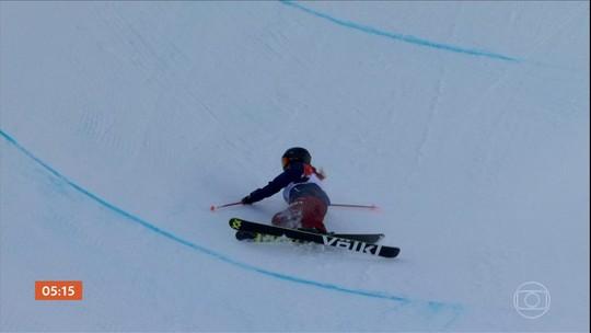 Veja como foi a competição de snowboard halfpipe na Coreia do Sul
