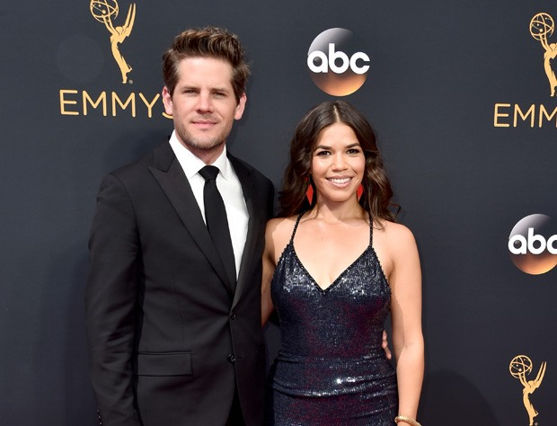 Ryan Piers e America Ferrera (Foto: Getty Images)